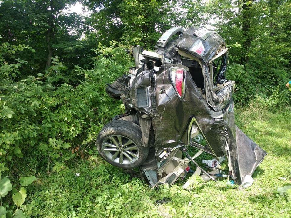Разбитый авто