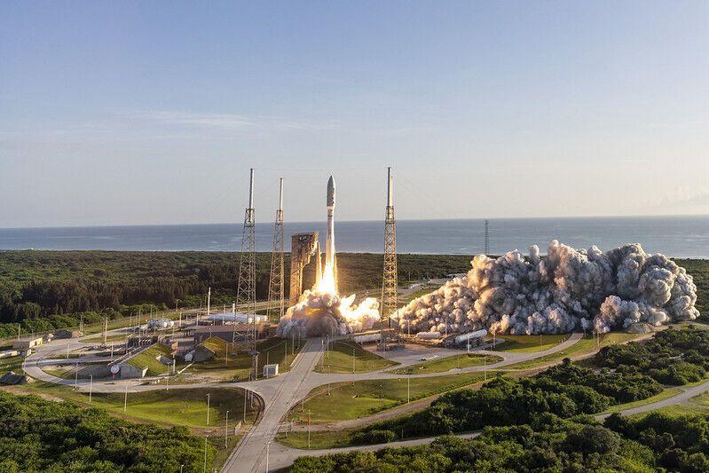 Запуск ракеты Atlas V на Марс