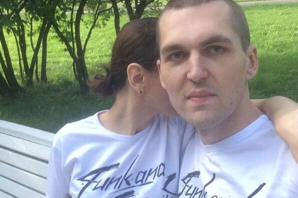 Енді Картрайт із дружиною