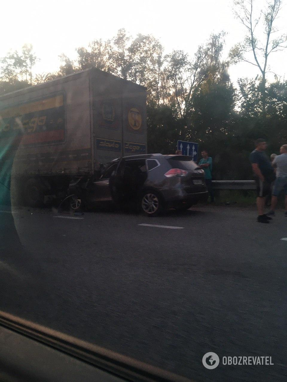 ДТП на трасі Київ-Чоп