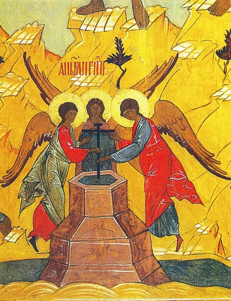 Праздник Изнесение Честных Древ Животворящего Креста Господня пришел к нам из Византии