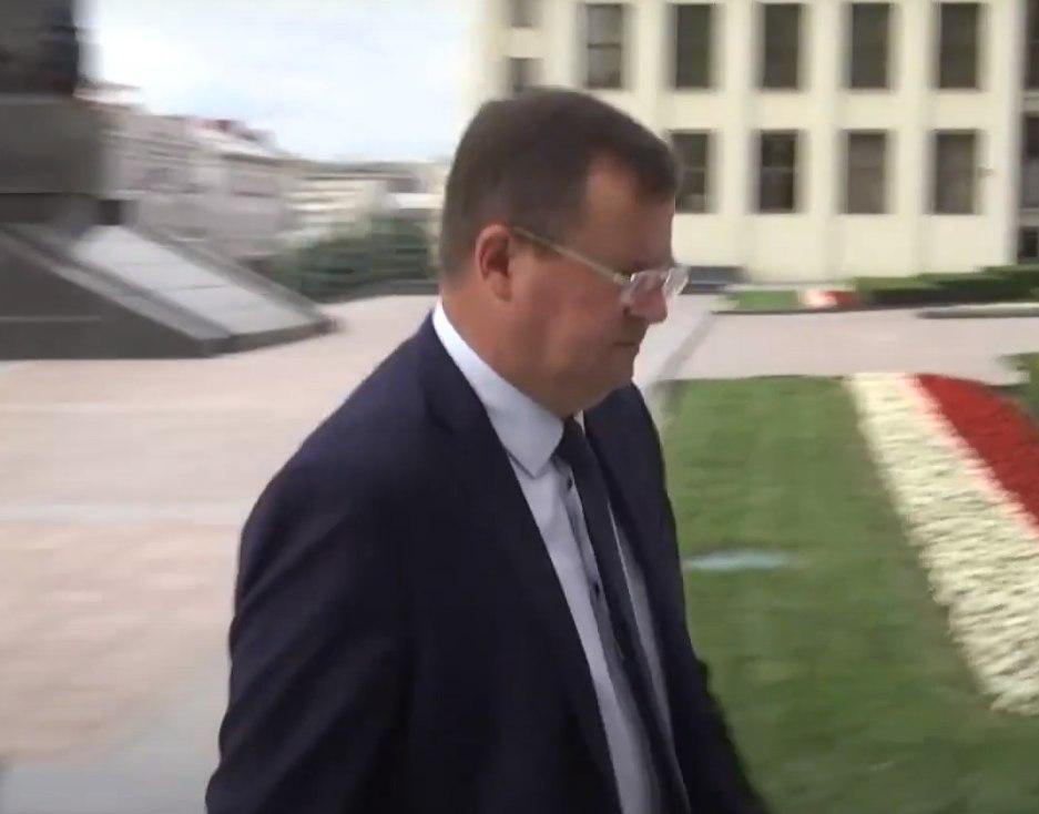 Секретарь Совета безопасности Республики Беларусь Андрей Равков