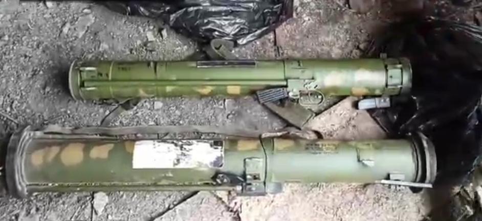 """Оружие, которое якобы нашли террористы """"Л/ДНР"""""""