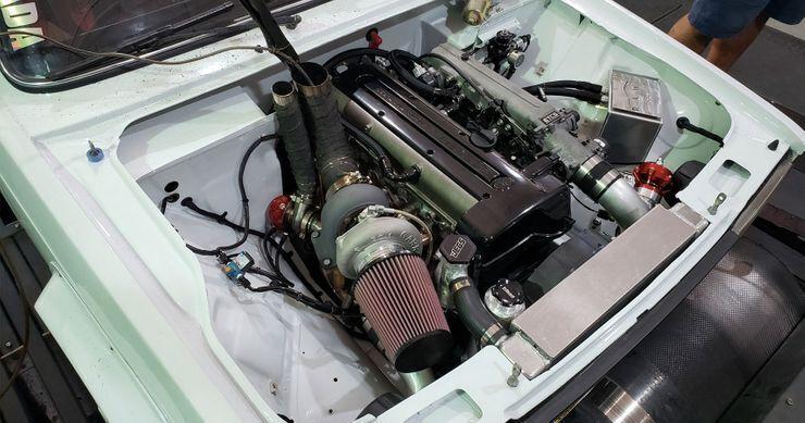 Мотор ВАЗ-2105 від Toyota видає більш ніж 500 к.с.