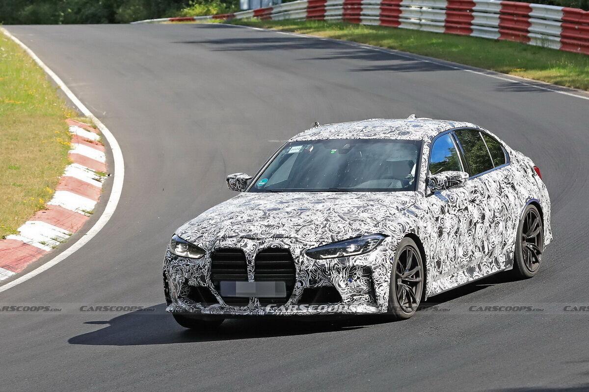На Нюрбургринзі помічено новий BMW M3. Фото: