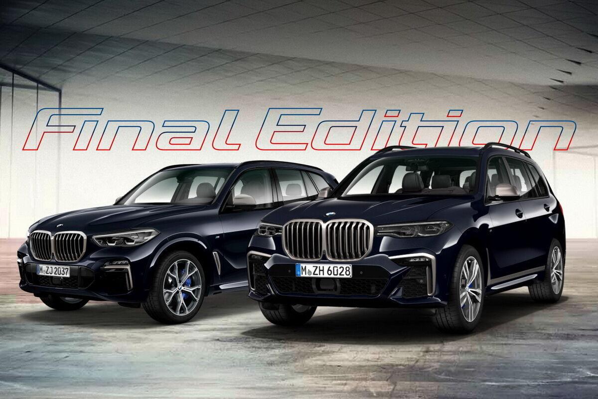 """Компанія BMW підготувала """"фінальну серію"""" X5 M50d і X7 M50d. Фото:"""