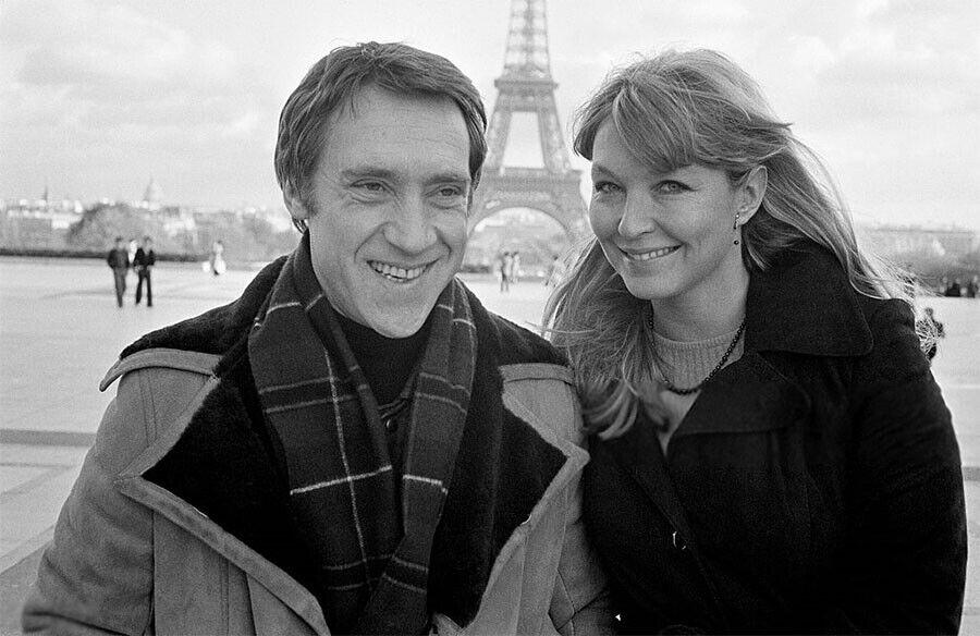 Владимир Высоцкий с Мариной Влади в Париже