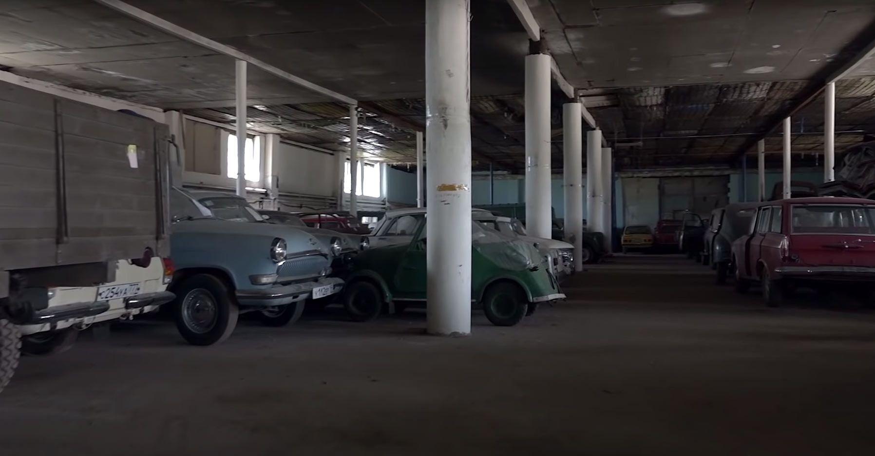 Забытые авто времен СССР.