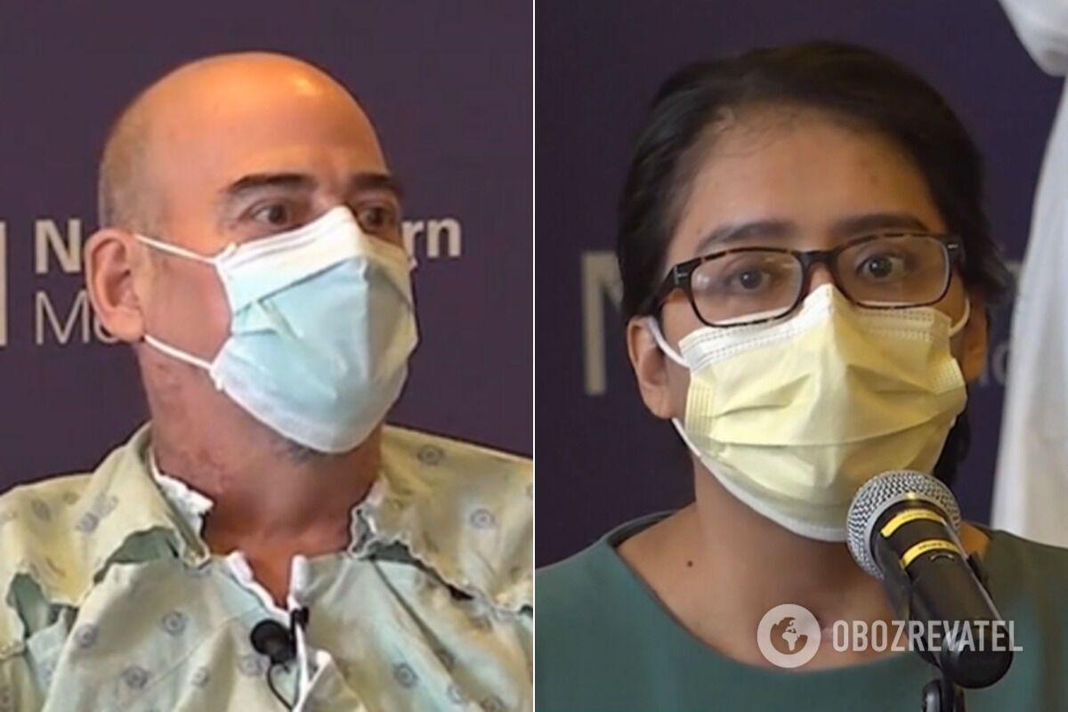 Браяну та Майрі, які перехворіли на COVID-19, виконали операції з пересадження легень