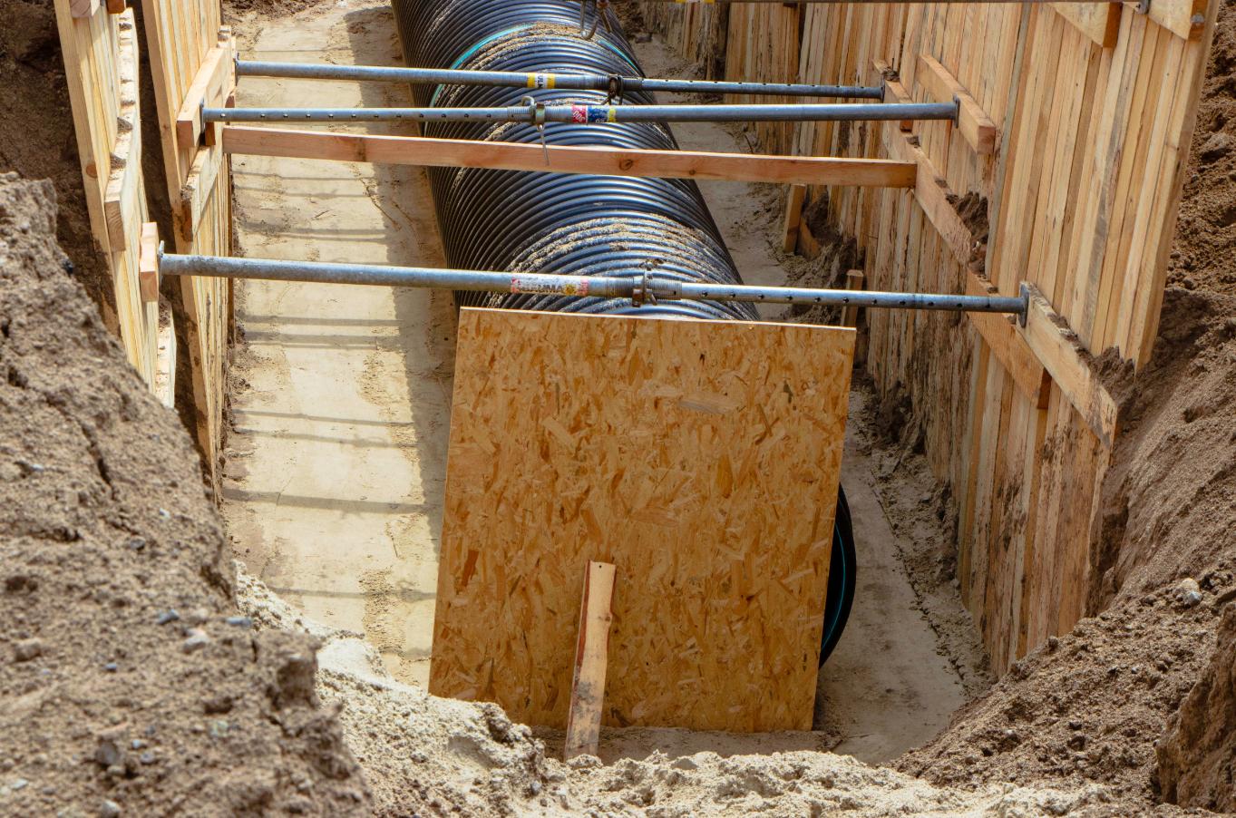 В ходе работ планируется заменить 245 метров трубы