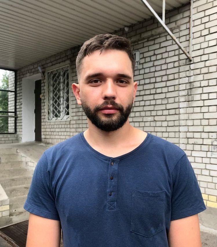 Специалист по работе с ОСМД и ЖСК департамента по вопросам местного самоуправления, внутренней и информационной политики Владислав Макарец
