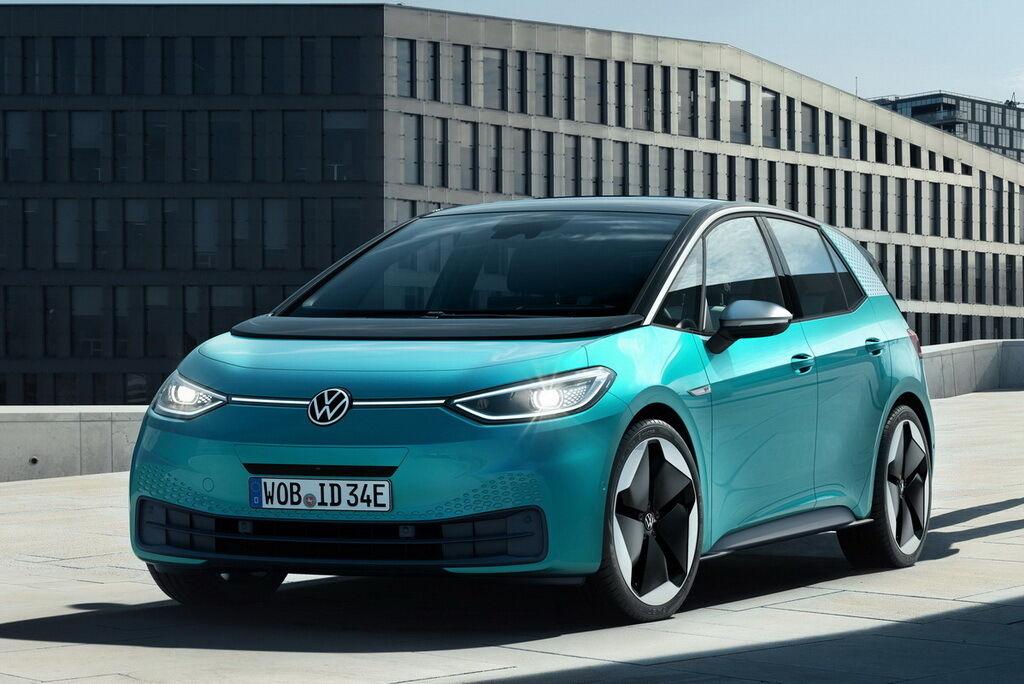 VW Transporter T7 отримає стилістичні елементи електричного хетчбека ID.3. фото: