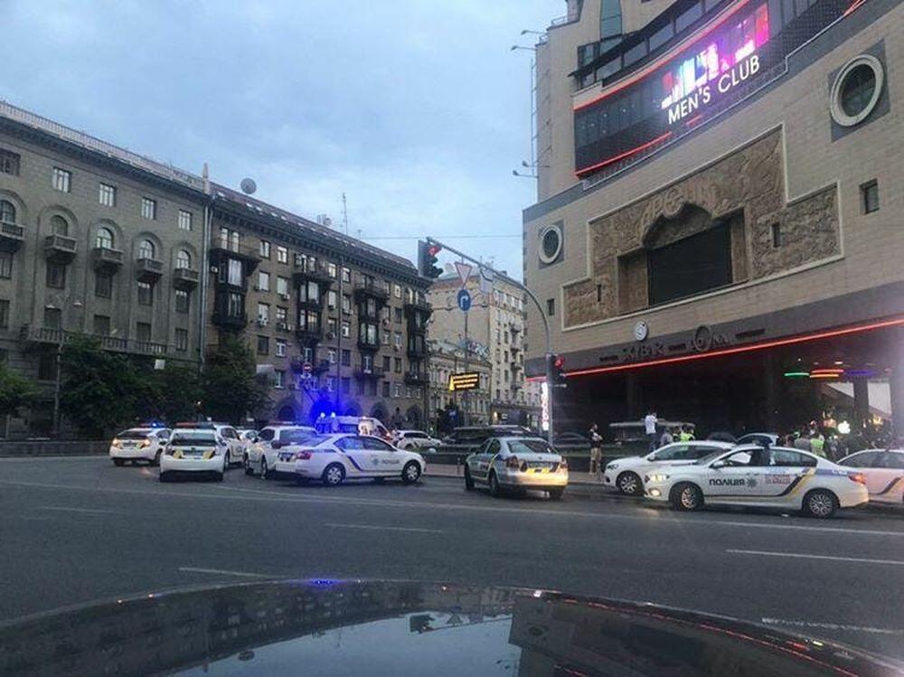 Утром 4 июля в центре Киева произошла драка со стрельбой
