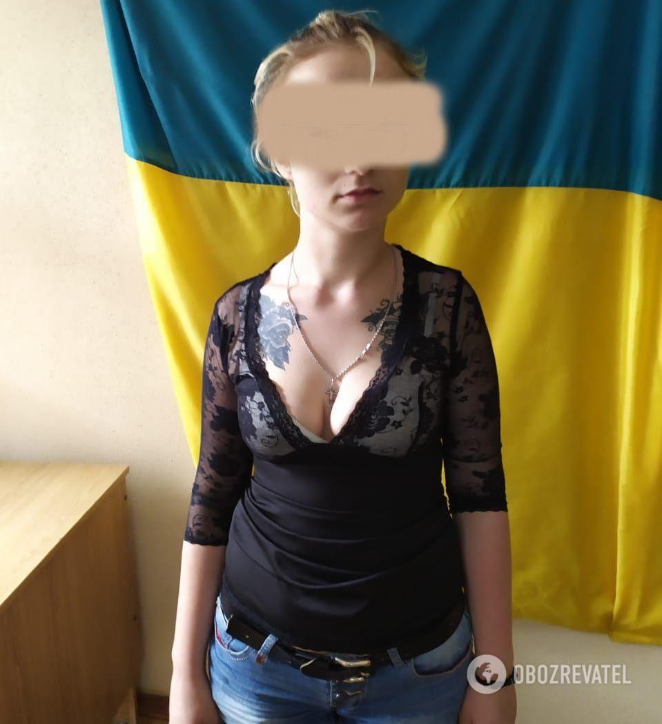 Среди задержанных полицией была одна девушка