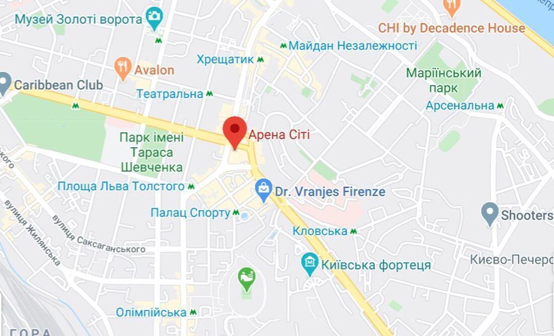 Драка произошла в центре Киева на Бессарабке