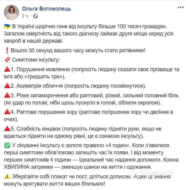 Гине 100 тисяч людей на рік: 5 симптомів другого за смертністю діагнозу в Україні