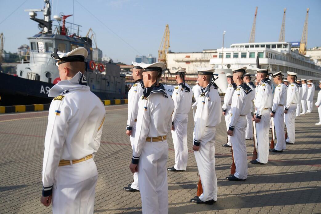 Празднование Дня ВМС в Одессе