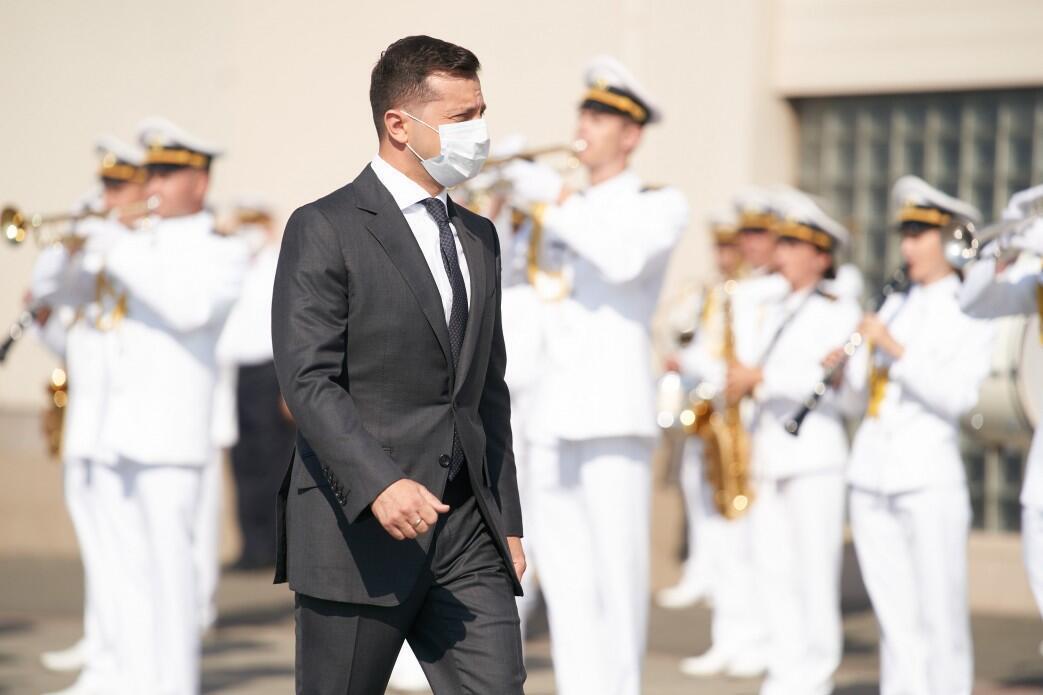Президент Володимир Зеленський привітав моряків із Днем ВМС