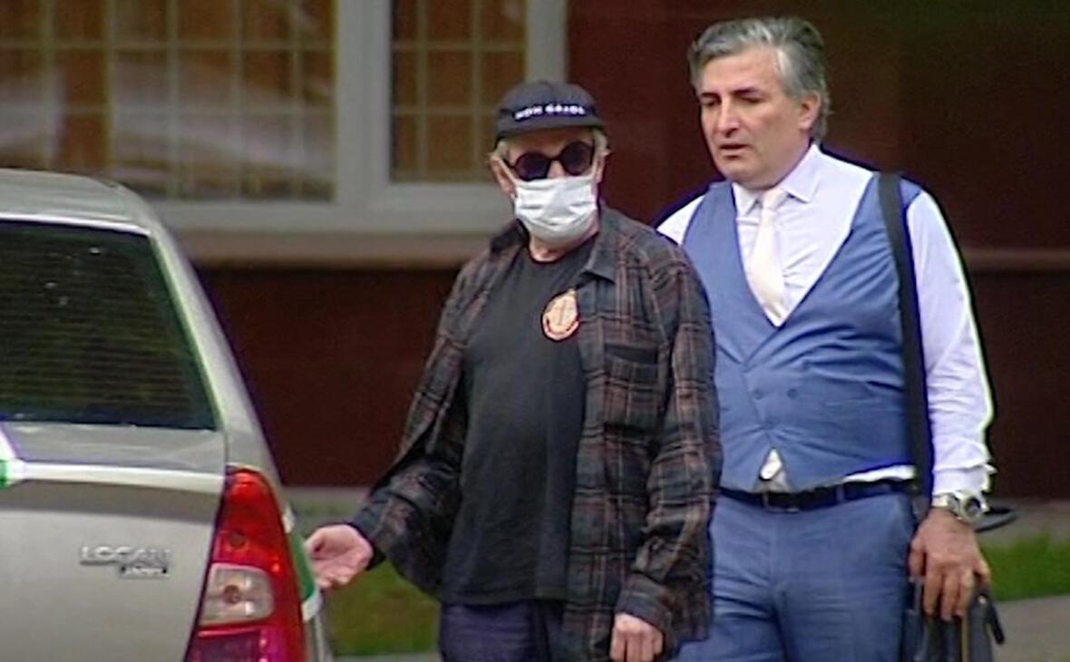 Ефремов и его адвокат Пашаев