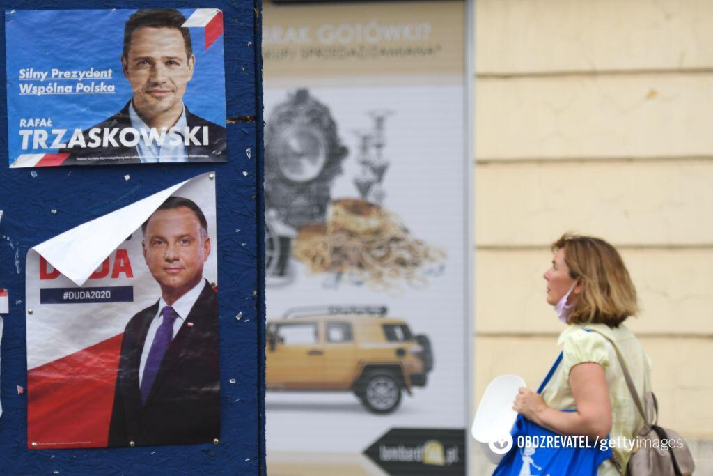 Президентом Польши может стать Рафал Тшасковский. Getty Images