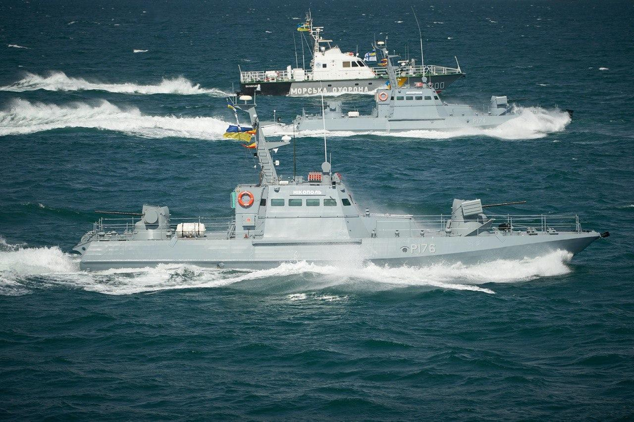 Морской парад ко Дню ВМС ВСУ