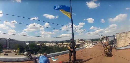 Установка флага после деоккупации