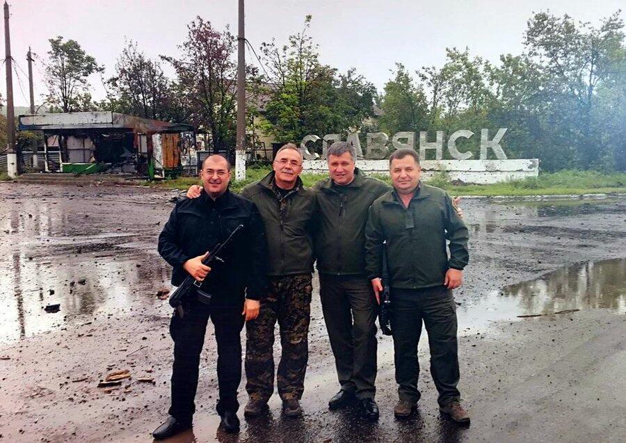 Утро после освобождения Славянска