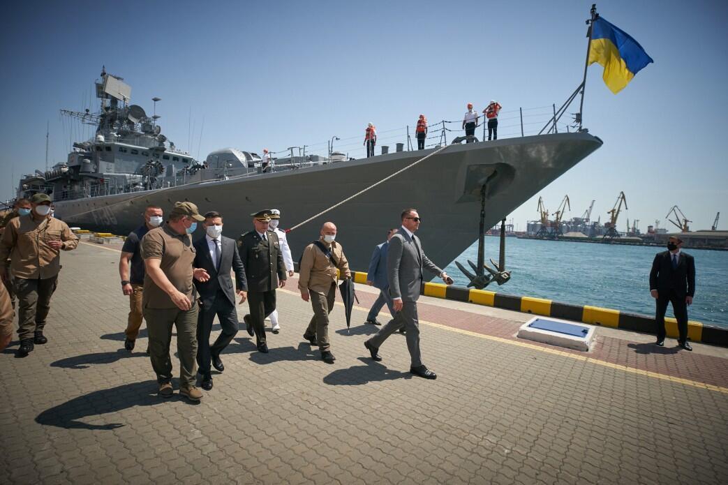 Зеленский в Одессе встретился с ветеранами. Фото: