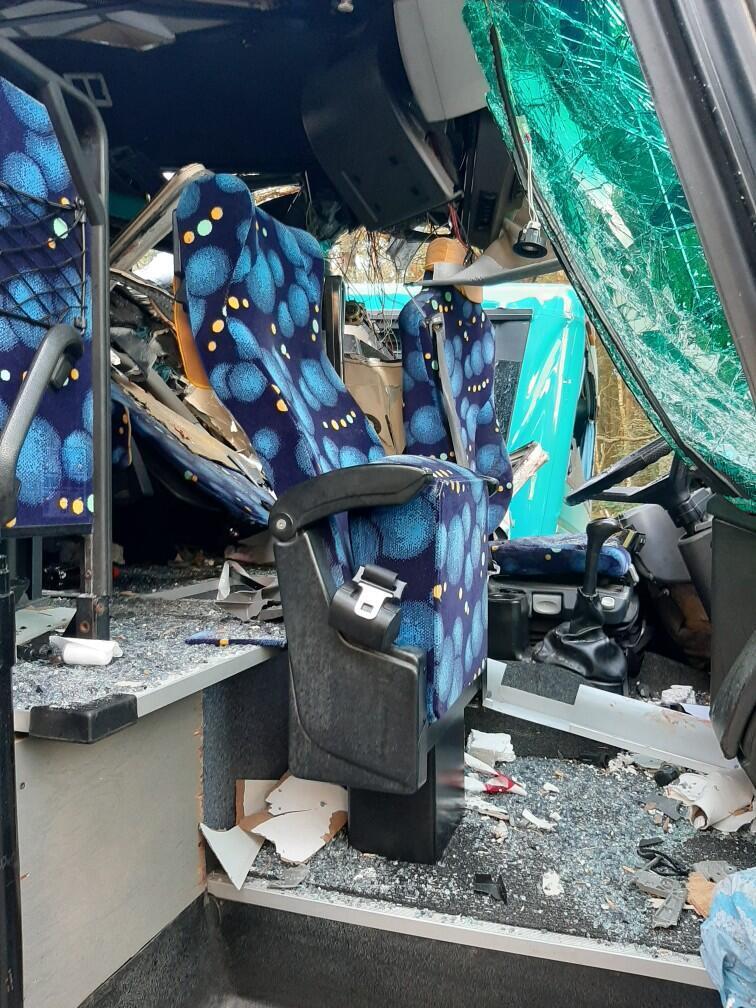 14 людей постраждали в масштабній ДТП в Польщі