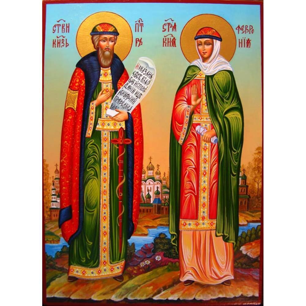 Молитвы Петру и Февронии читают с просьбами о помощи в делах любви и семьи