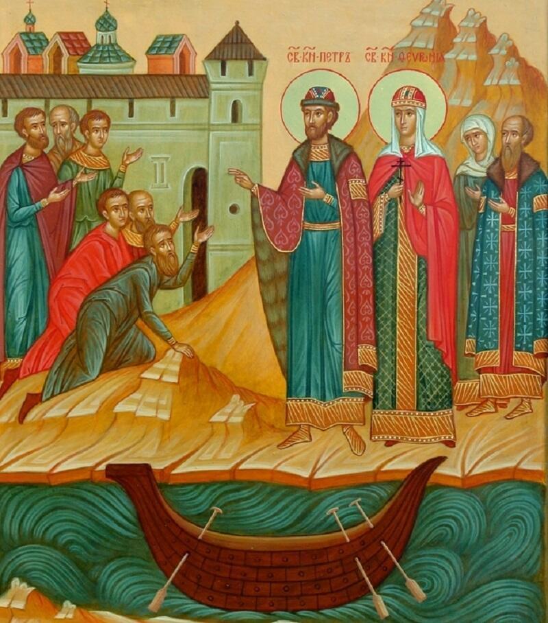 Святые Петр и Феврония – покровители семьи и верности