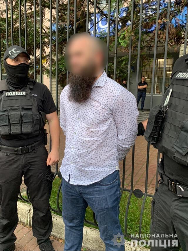 В Киеве задержали граждан РФ. Фото - Национальная полиция