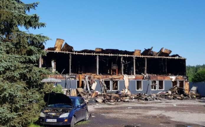 У Польщі спалили хостел, де жили українці