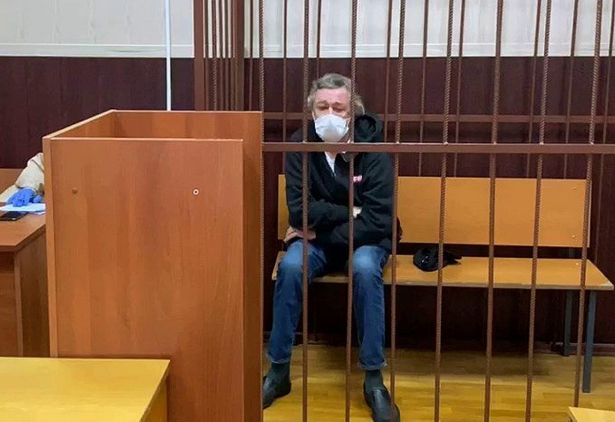Михайло Єфремов у залі суду