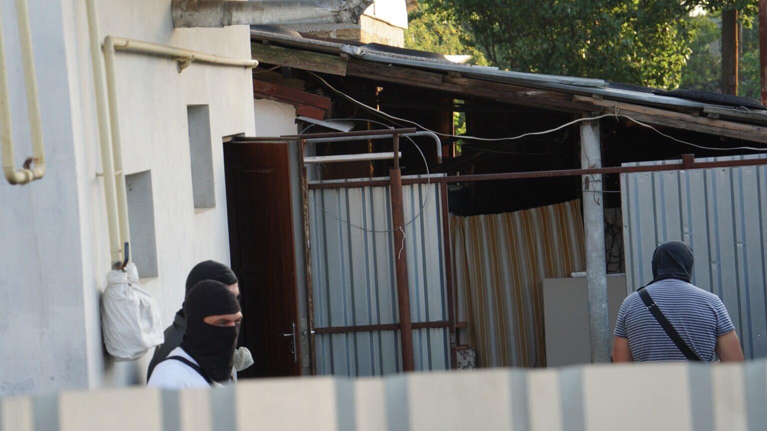 Обыски у крымских татар в Крыму