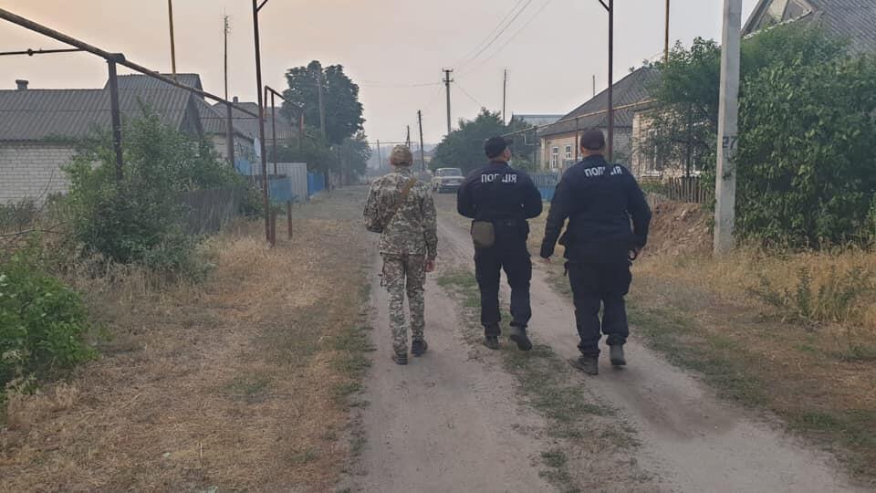 Пожежі в Луганській області