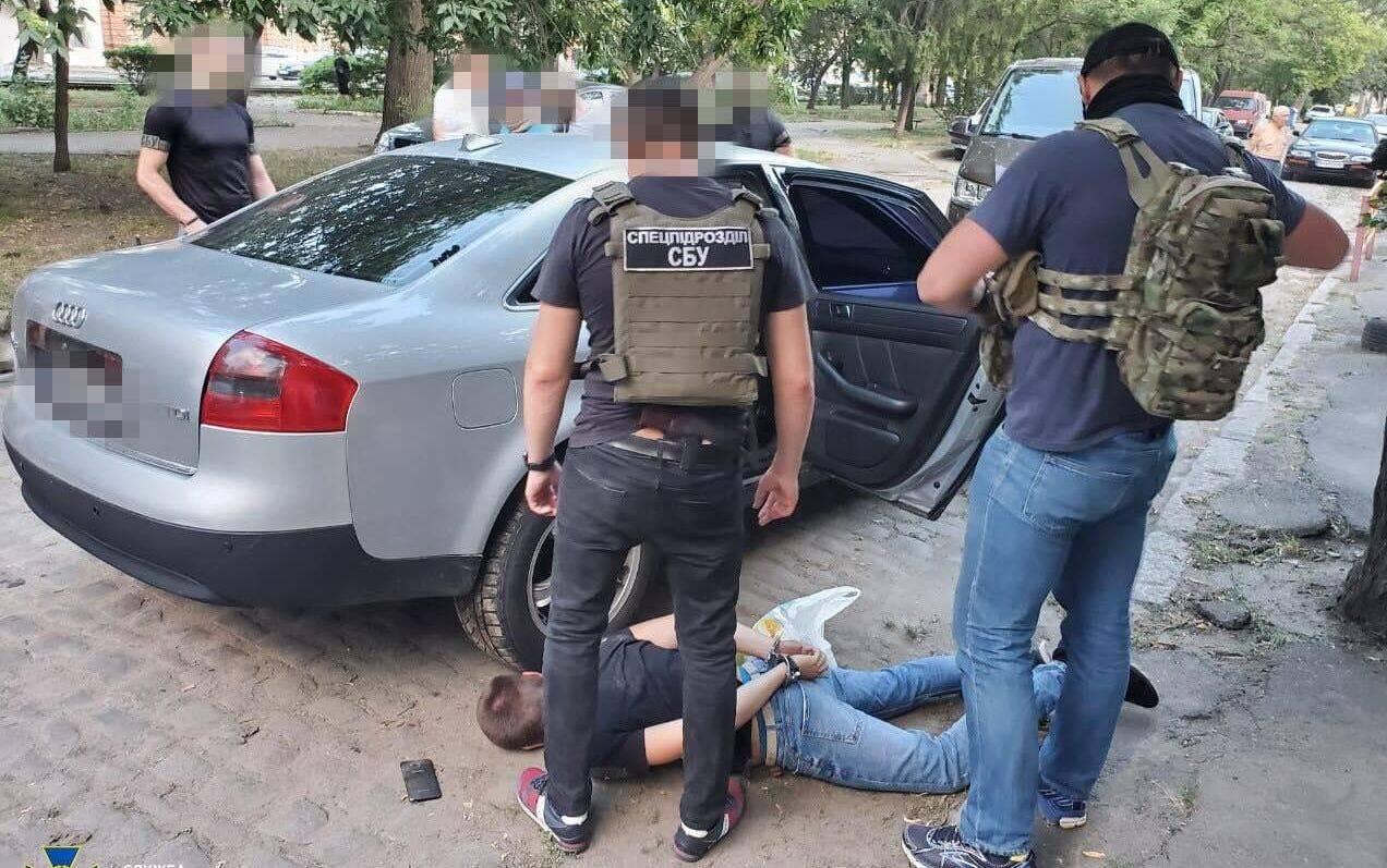 Затримання членів ОЗУ під керівництвом Лоту Гулі в Одесі