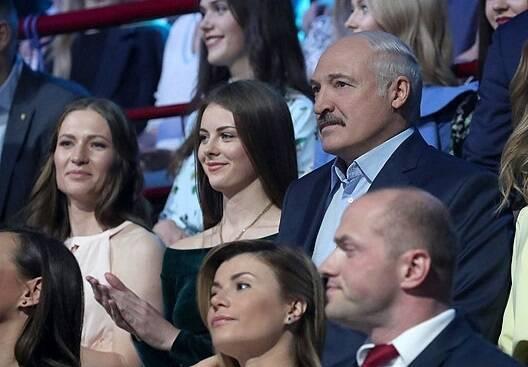 Марія Василевич та Олександр Лукашенко