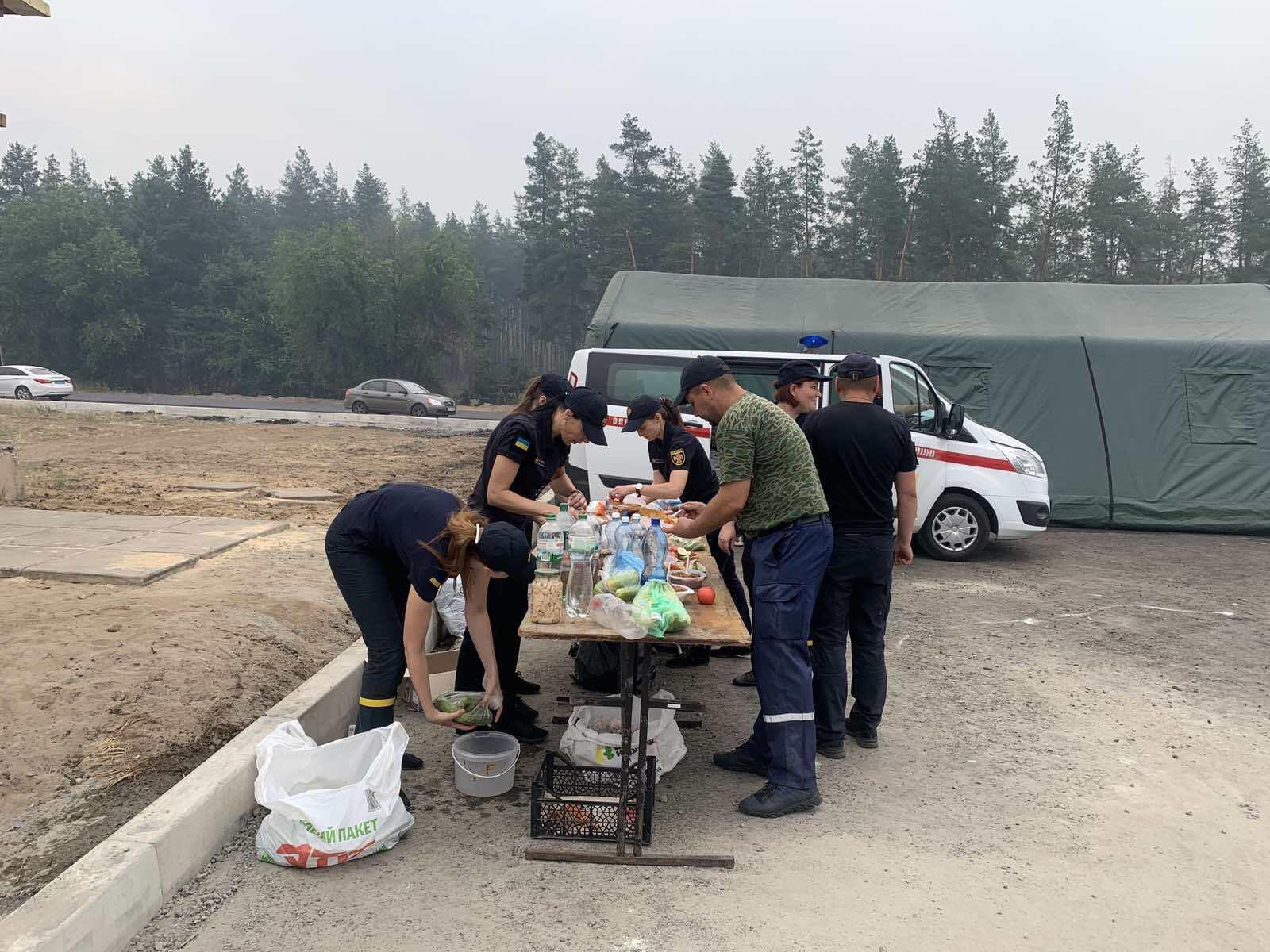 Пожежні в Луганській області, 8 липня
