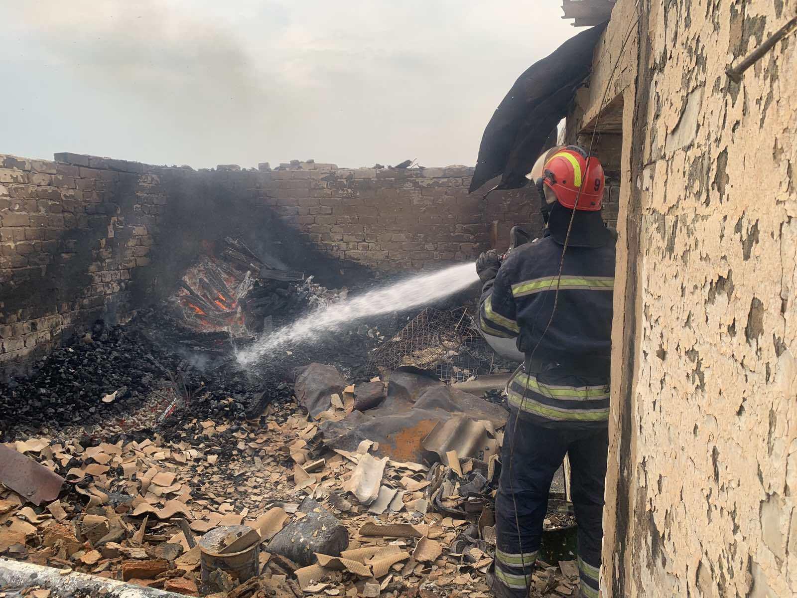 Пожежний в Луганській області, 8 липня