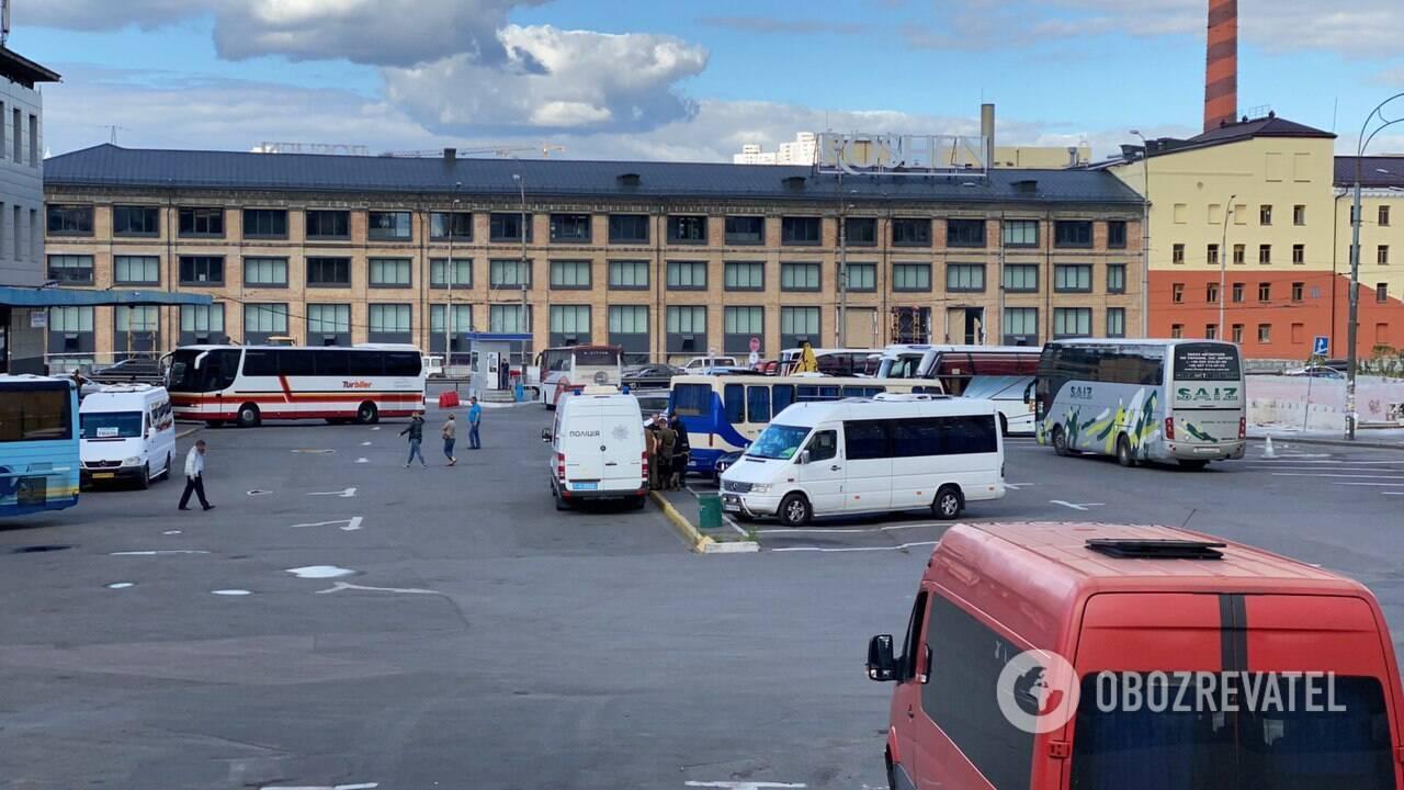 В Киеве сообщили о заминировании центрального автовокзала