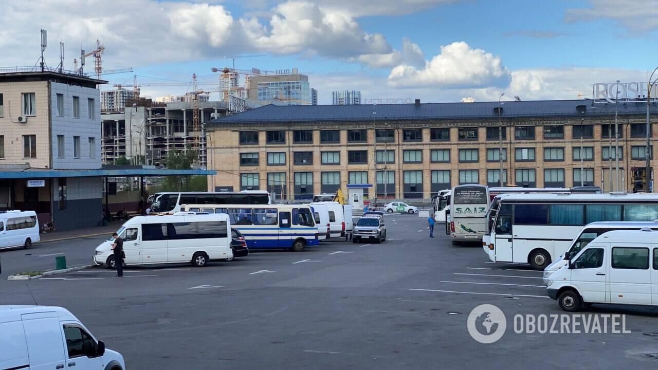 У Києві повідомили про замінування центрального автовокзалу