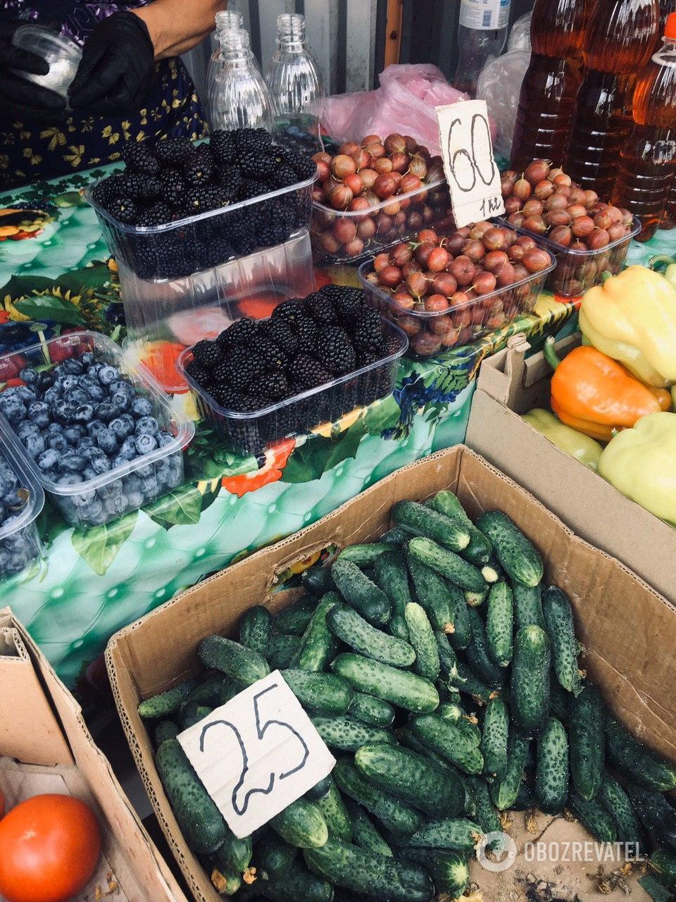 Будьте осторожнее при покупке овощей в жару