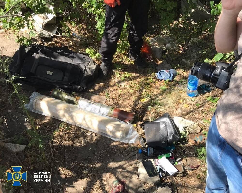 Терорист мав при собі дві РПГ-22