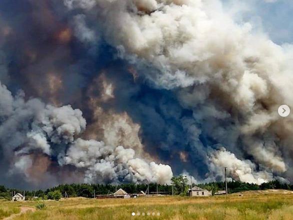 Пожежа біля Сєвєродонецька, 7 липня