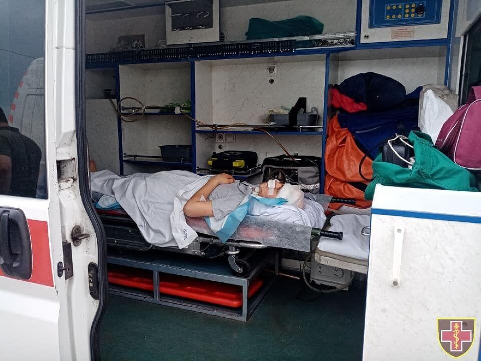 До Києва евакуювали поранених українських захисників з Донбасу
