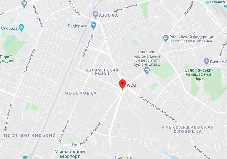 Инцидент произошел на Севастопольской площади.