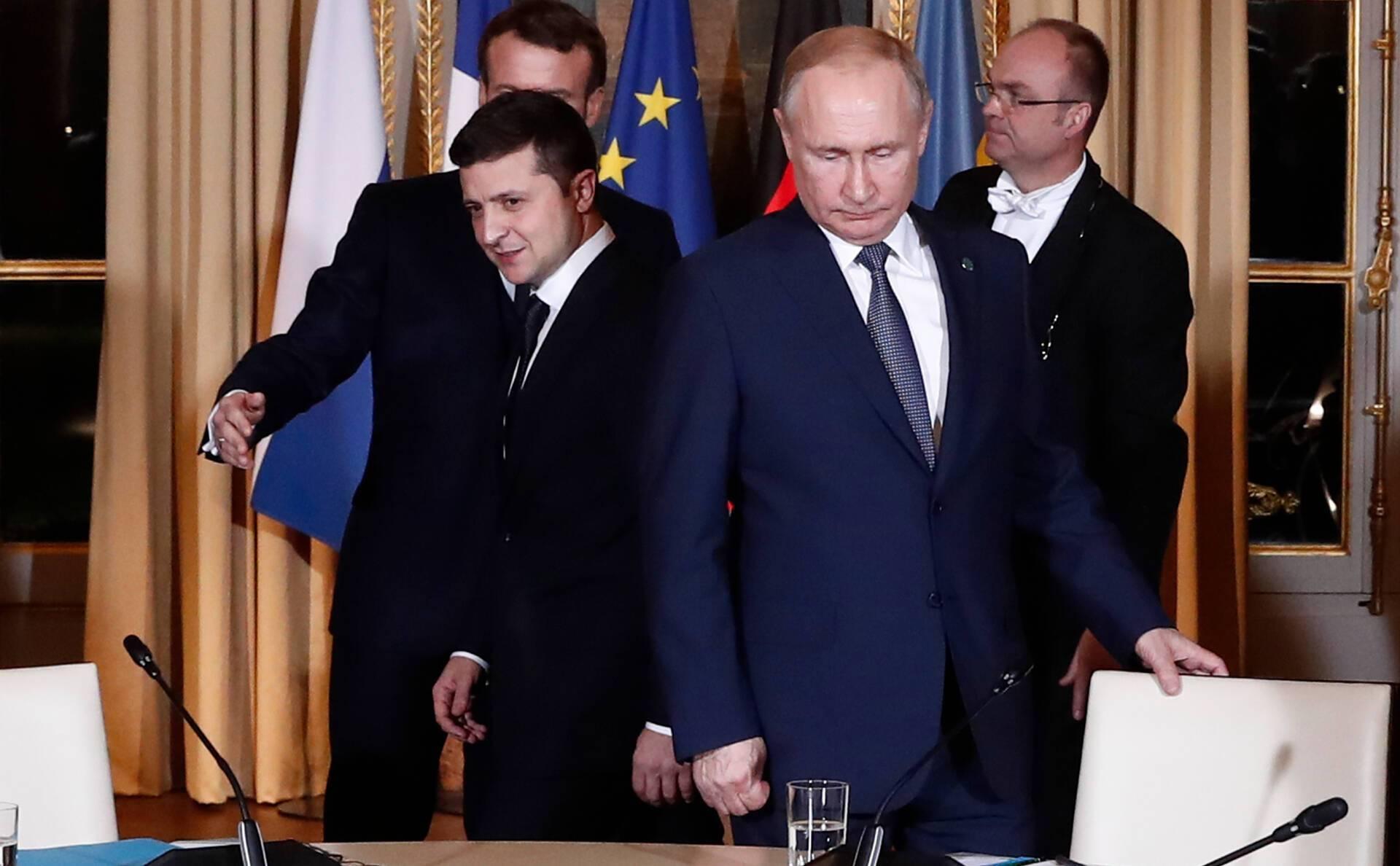 """""""Нормандская встреча"""" в Париже в декабре 2019 года"""