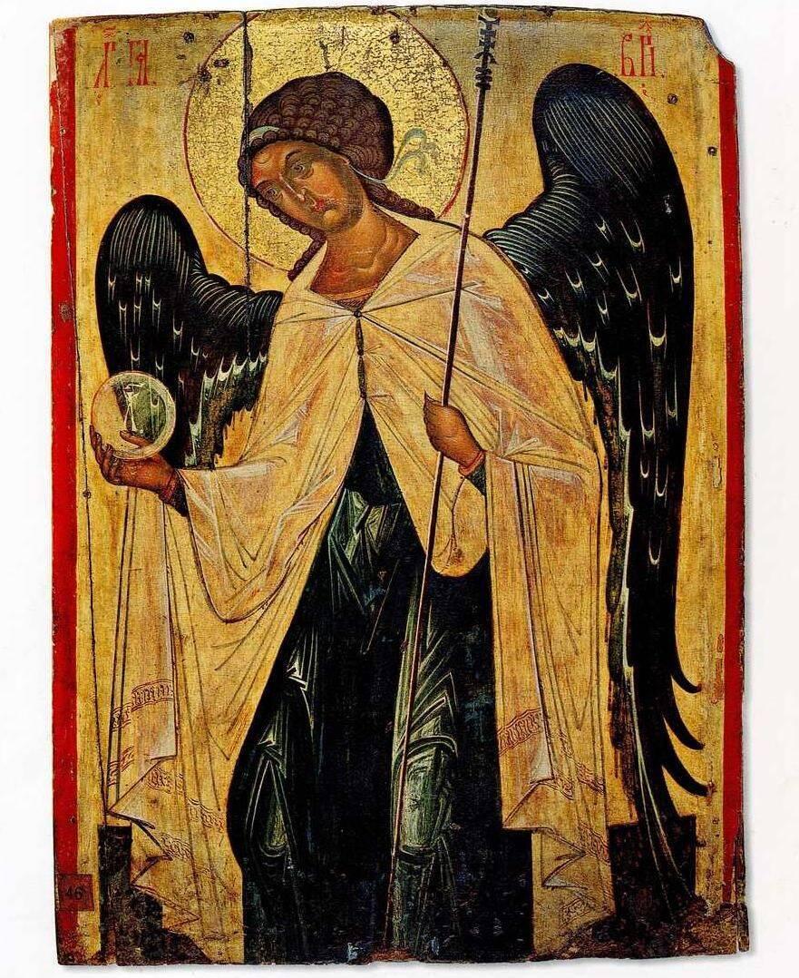Архангел Гавриил. Икона, XIV век