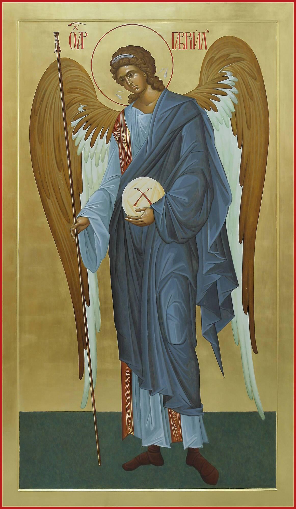 Архангел Гавриил охраняет детей, помогает незамужним и неженатым верующим